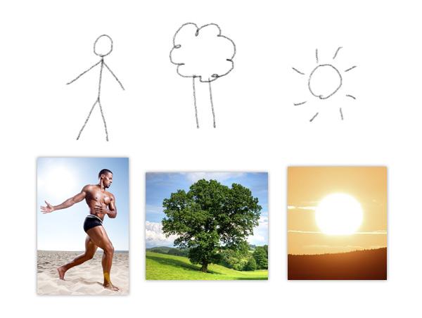mind recognize symbols drawing