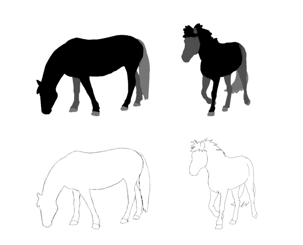 why drawing animals so hard
