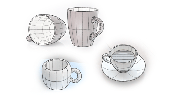 Scribble Drawing Of Objects : Think with forms not lines take your drawing to the next