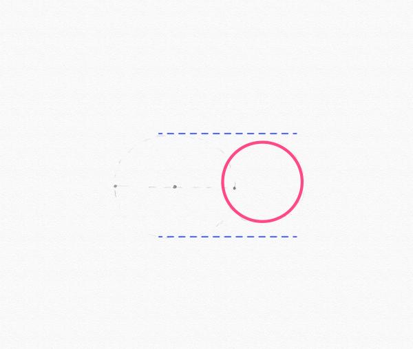 draw circle bum