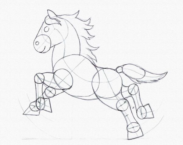 draw a pony prepare copy