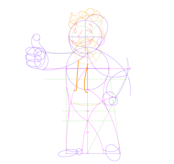 Fallout 4 Character Design Tutorial : How to draw vault boy from the fallout series step by
