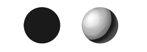 how to paint ambient occlusion sphere lack