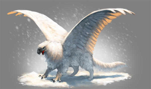 Sculpt Your Idea: How to Quickly Paint a Snow Griffin in Adobe Photoshop