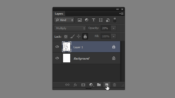 photoshop how to create new layer