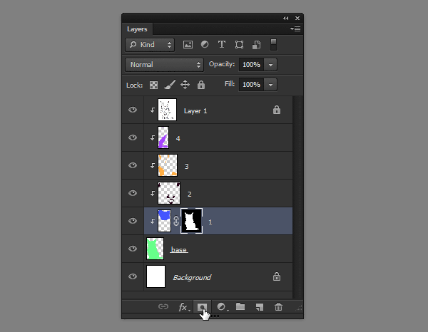 photoshop how to create layer mask out of selection