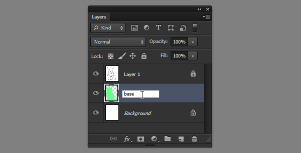 photoshop change layer name
