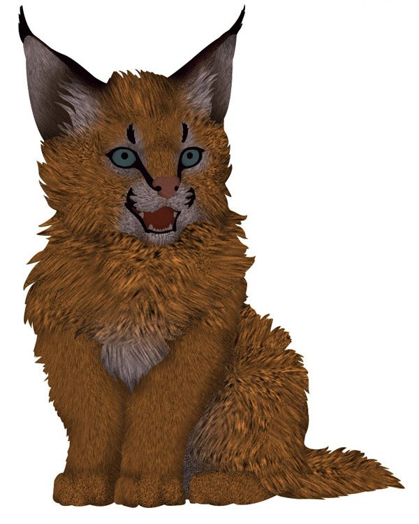 photoshop how to create fur rough example