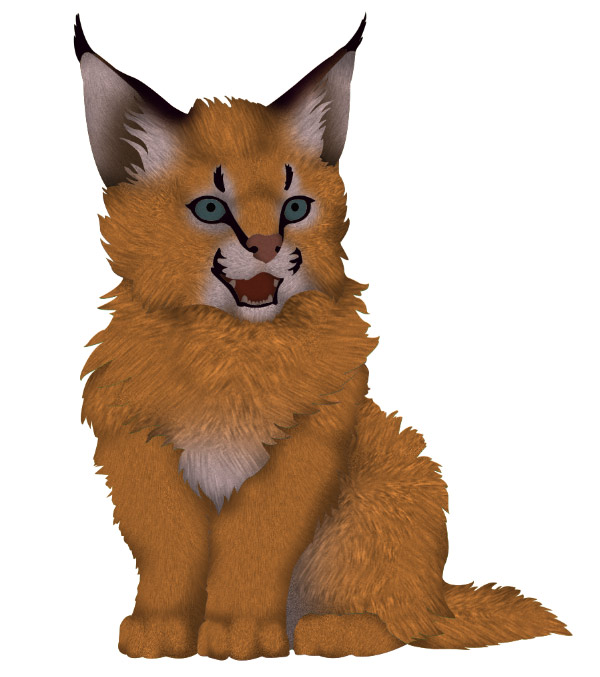 photoshop how to create fur slight texture