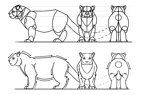 how to create style ready reference sheet character