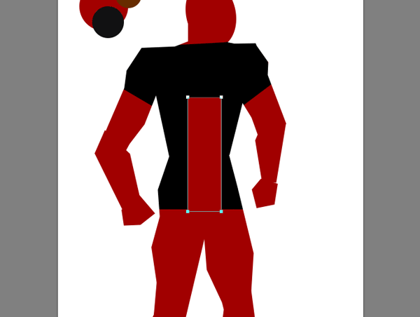 draw vector deadpool photoshop cut shapes