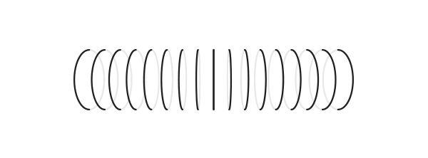 optical illusions cylinder curves