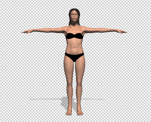 photoshop 3d character from fuse
