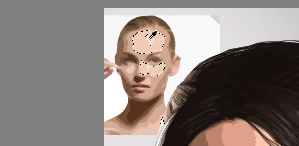 photoshop how to pick a single skin shade