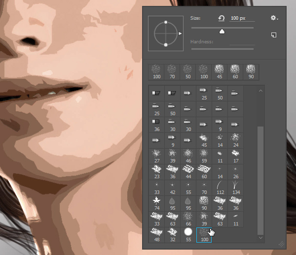 photoshop brush for blending
