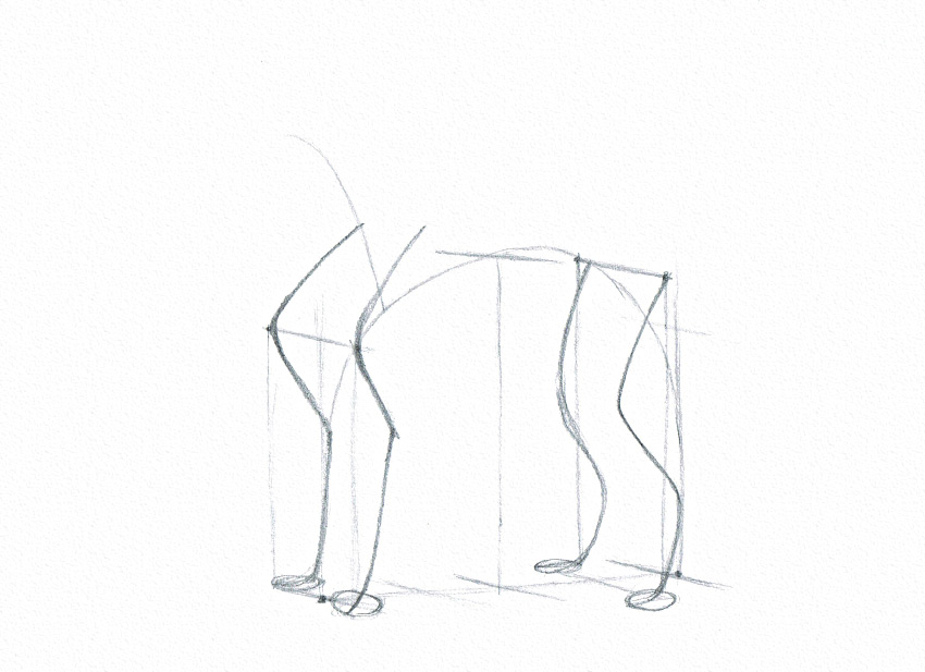 how to start a drawing anatomy