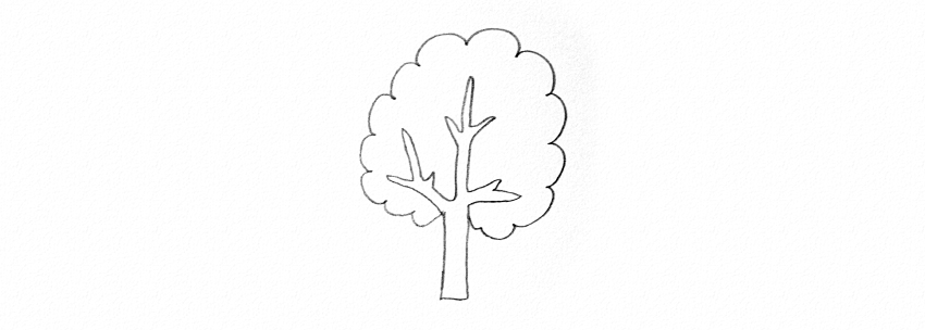 How to draw trees too simple