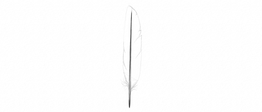 how to draw feather cuts