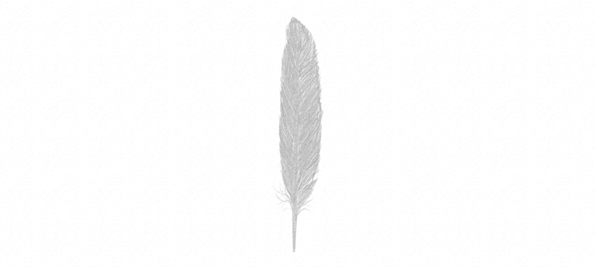 how to darken feather vane