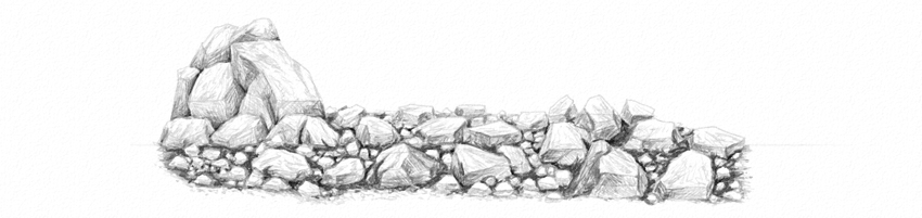 Drawing Smooth Lines In Autocad : How to draw grass ground and rocks