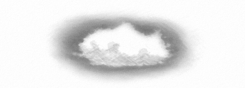 how to shade clouds