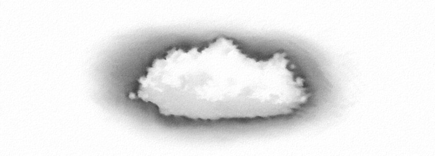 how to draw a realistic cloud