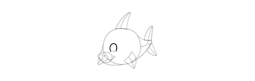 chibi shark eyes