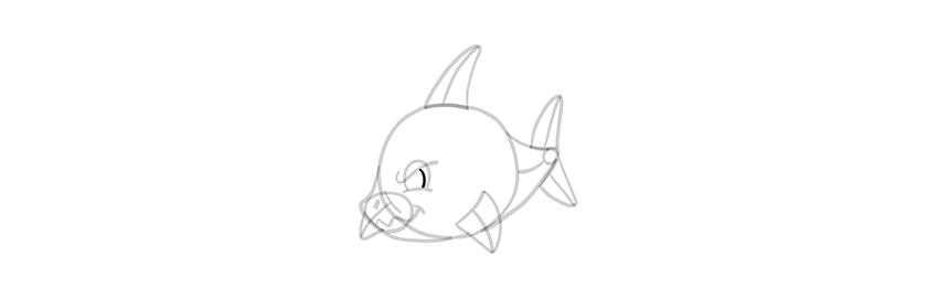 chibi shark pupil