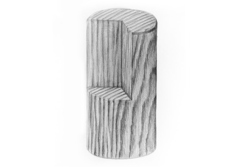 how to draw wooden surface