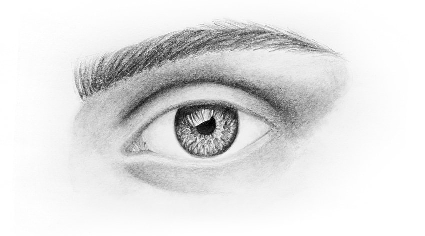 How To Draw An Eye Realistic
