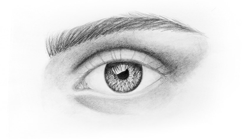 how to draw realistic eyelashes