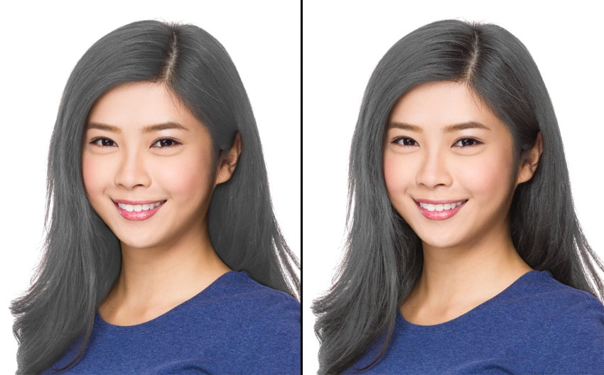 how to bleach hair in photoshop
