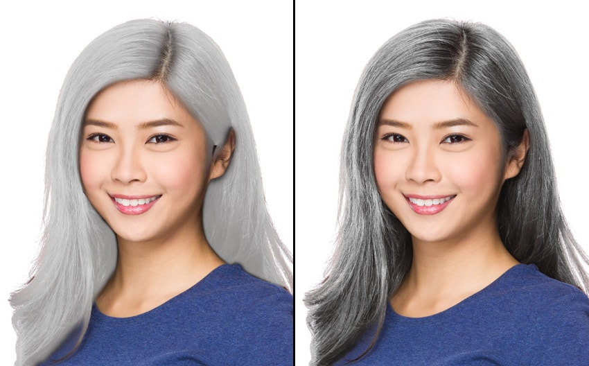 how to create brighter hair color in photoshop