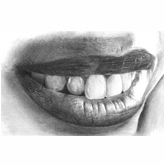 Drawing Realistic Mouth and Teeth