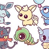 Learn How to Draw Cute Chibi Kawaii Pokemon Characters