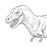 How to Draw a T-Rex Dinosaur