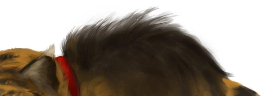 how to draw fur in photoshop