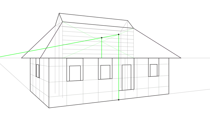 porch height in perspective
