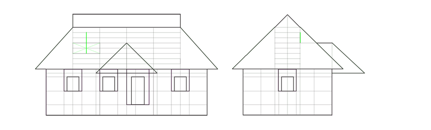 How to Draw a House Step by Step