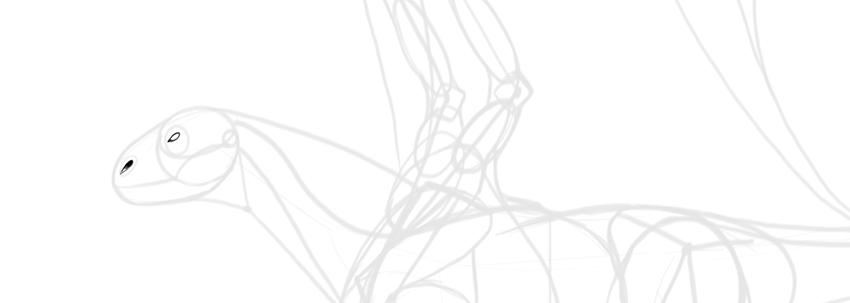 Bagaimana Menggambar Naga Tahap Demi Tahap