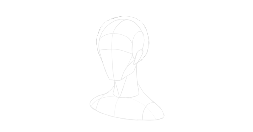 How to Draw Hair StepbyStep