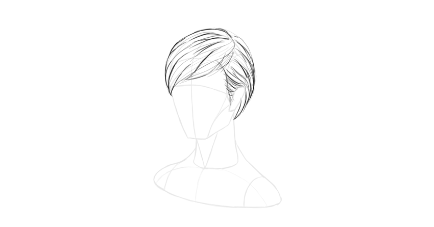how to draw zaryas hair
