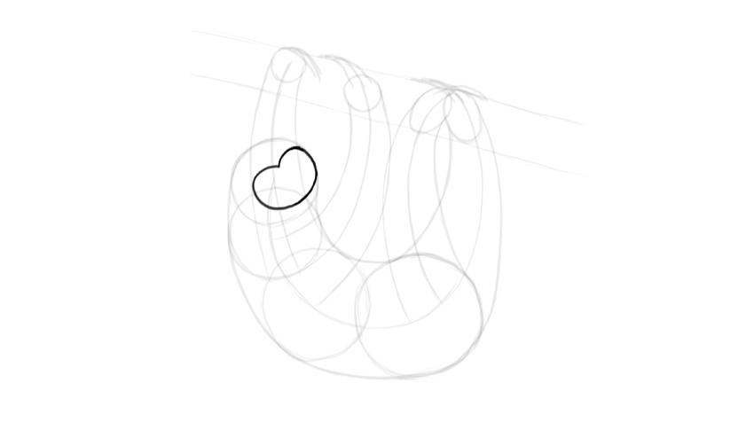 sloth face shape