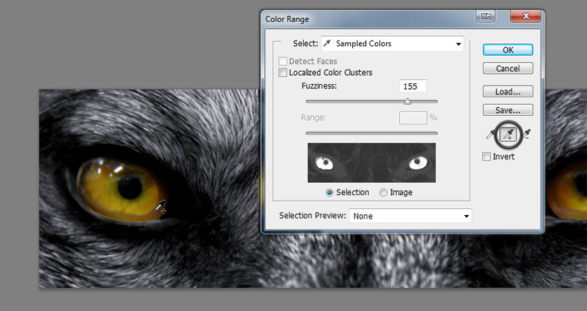 color range selection photoshop