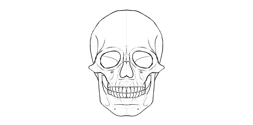 outline of skull by lkwai on DeviantArt |Skull Outline Drawings
