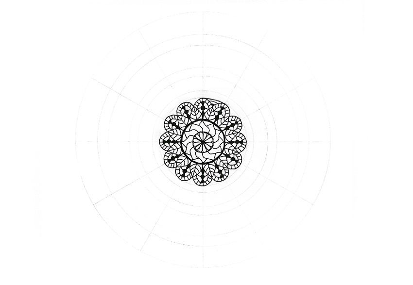 mandala detailed boundary
