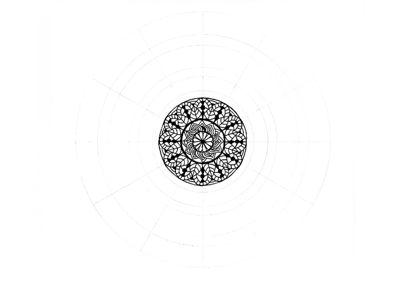 mandala center fixed