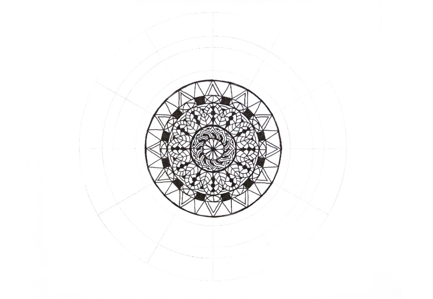 mandala how to fix mistake