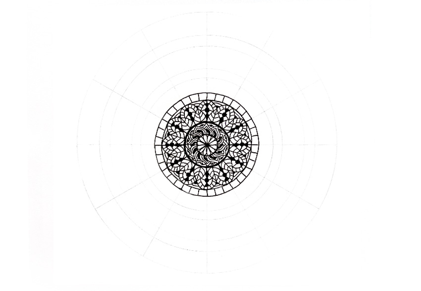 mandala simple boundary