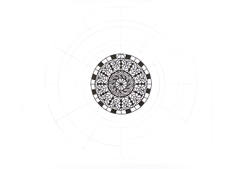 mandala empty space fixed